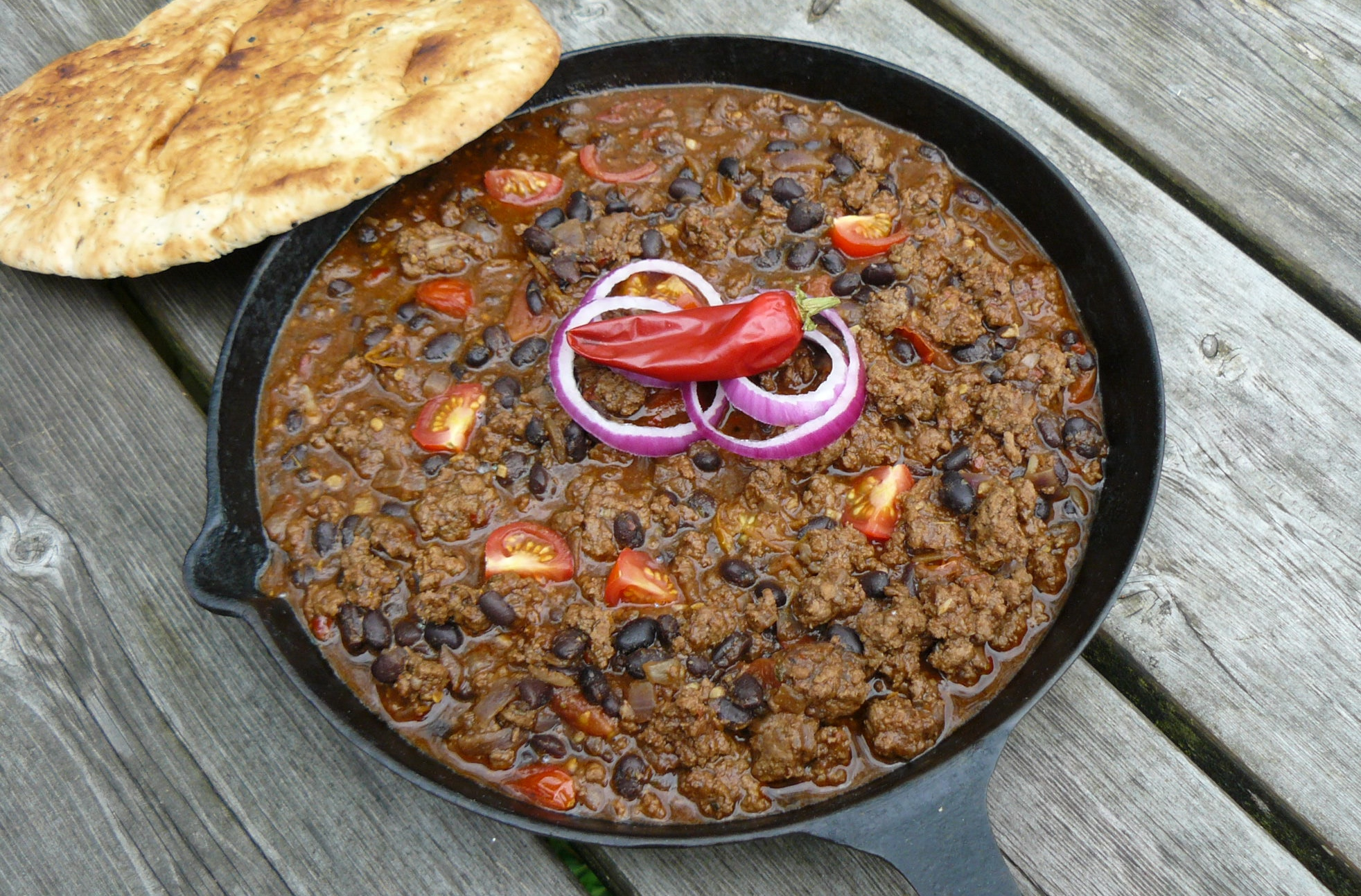 Chilli Con Carne with Herbs